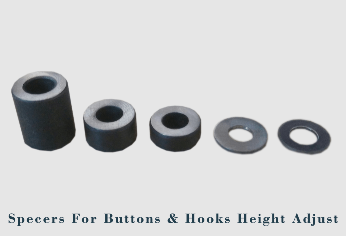 Specers For Buttons & Hooks Height Adjust