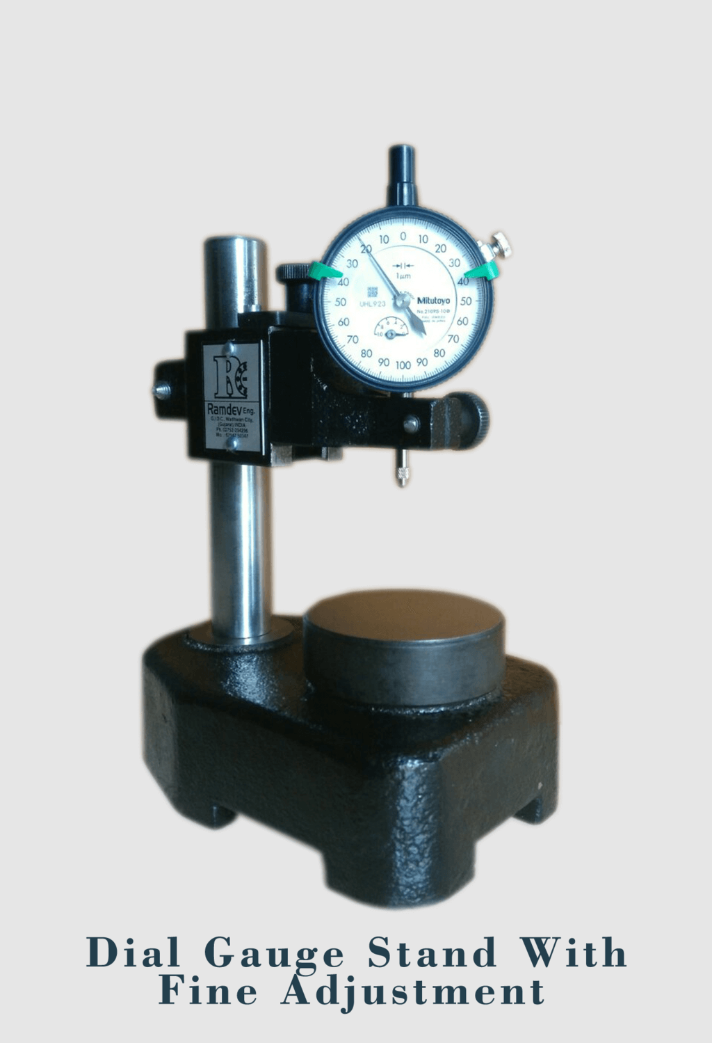 Dial Gauge Stand With  Fine Adjustment